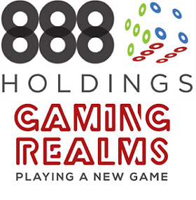 888 Holdings & Gaming Realms Partner Up