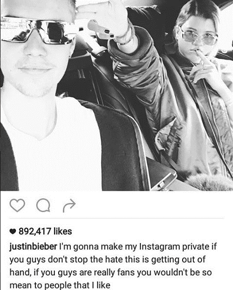 Justin Bieber quit social media