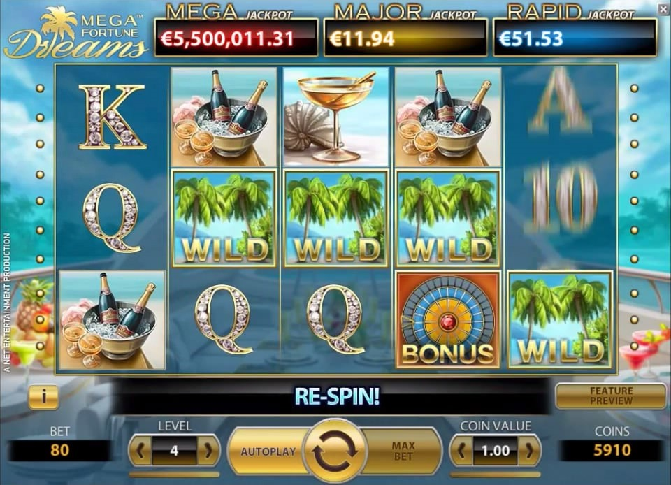 Mega Fortune Dreams Slot casinoapp.com