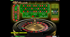 Roulette at Mansion Casino