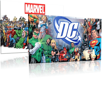 DC Comics slots take over from Marvel
