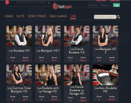 Betspin Live Dealer