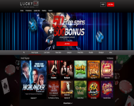 Lucky 247 Homepage