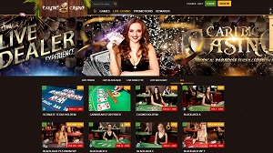 Live Dealer at Caribic Casino
