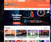 LeoVegas Live Casino page