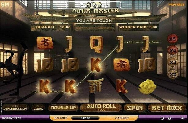 Ninja Master Mobile Slots