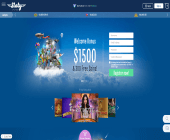 Sloty Casino Home Page