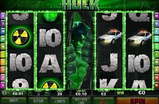 The Incredible Hulk Mobile Slots