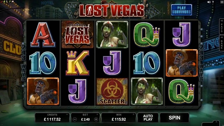 Lost Vegas Mobile Slot Review