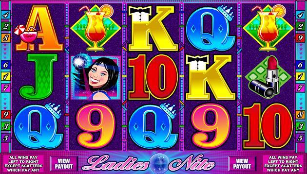 Play Ladies Nite Online Slots at All Slots