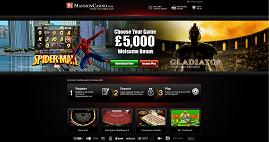 GBP5000  Welcome Bonus at Mansion Casino