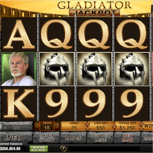 Playtech Gladiator Slot Pays Out Millions