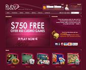 Screenshot 1 of Ruby Fortune Casino