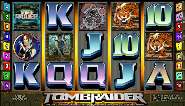 Play Tomb Raider at Royal Panda today
