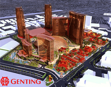 Genting Group's Resorts World Set to Open in Vegas in 2020