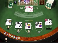Blackjack Table at Guts