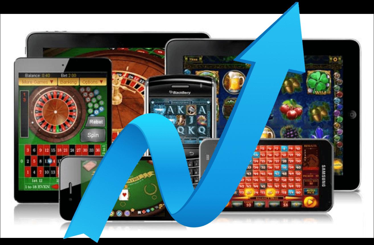 mobile casinos Q3 Mobile Revenues