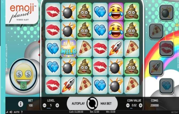 Emoji Planet Mobile Slots