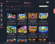 Betspin Game Selection