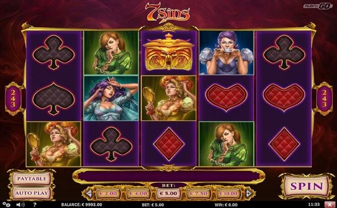 7Sins Online Slot