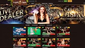 Live Dealer at Caribic Casino