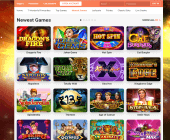 LeoVegas Games Page