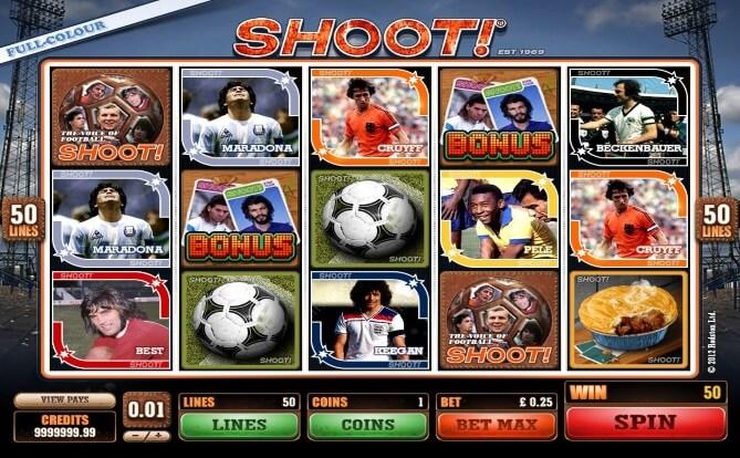 Shoot! Slots Game