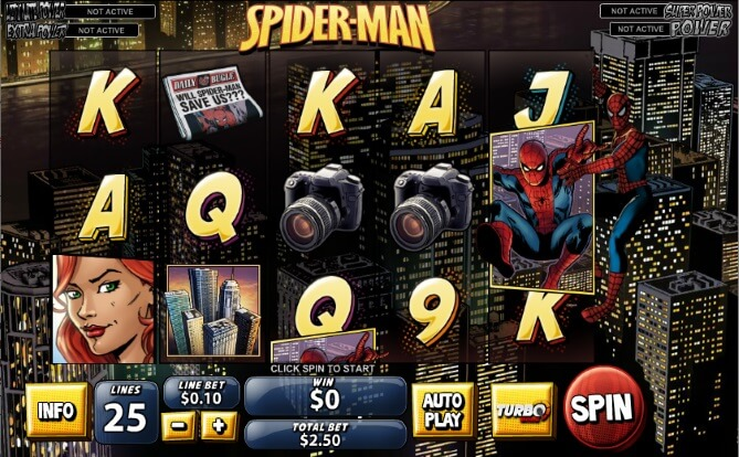 Spider-Man: Attack of the Green Goblin Mobile Slots