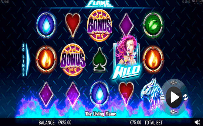 Flame Mobile Casino Slots Review