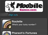 Screenshot 1 of Moobile Games Casino