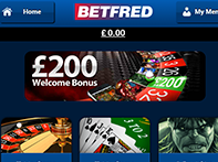 Screenshot 1 of Betfred Casino app