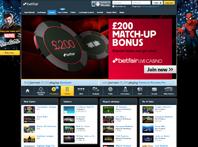 Screenshotone of Betfair Casino