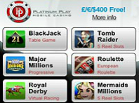 platinum casino app