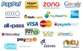 Various Online Payment Methonds