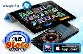 Iphone app available at All Slots Casino