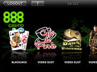 Screenshot 1 of 888 Casino