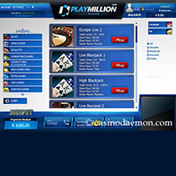 Screenshot 4 of PlayMillion Casino