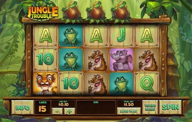Jungle Trouble Slots