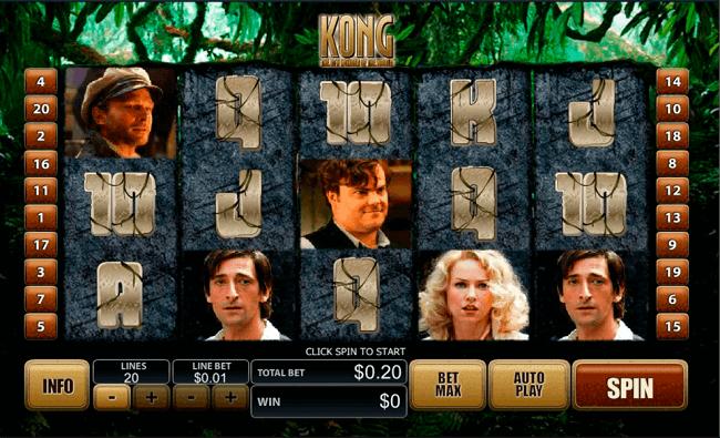 King Kong Mobile Slots