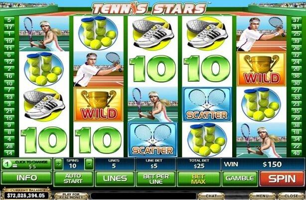 Tennis Star Slots