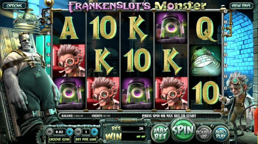 Frankenslot's Monster Mobile Slots